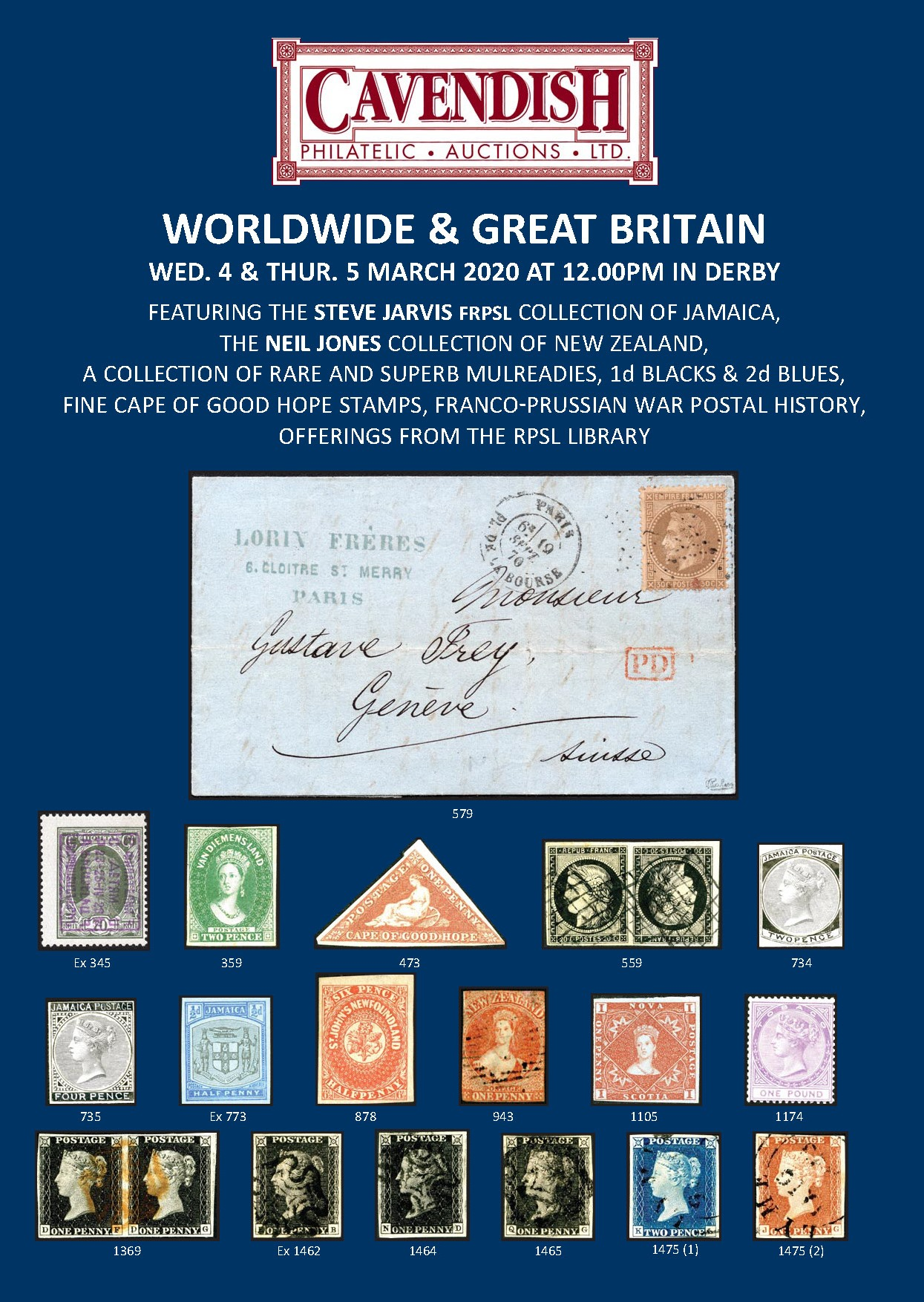 Worldwide & Great Britain - Mar 2020